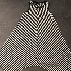 Black & White Stripped Mossimo Dress